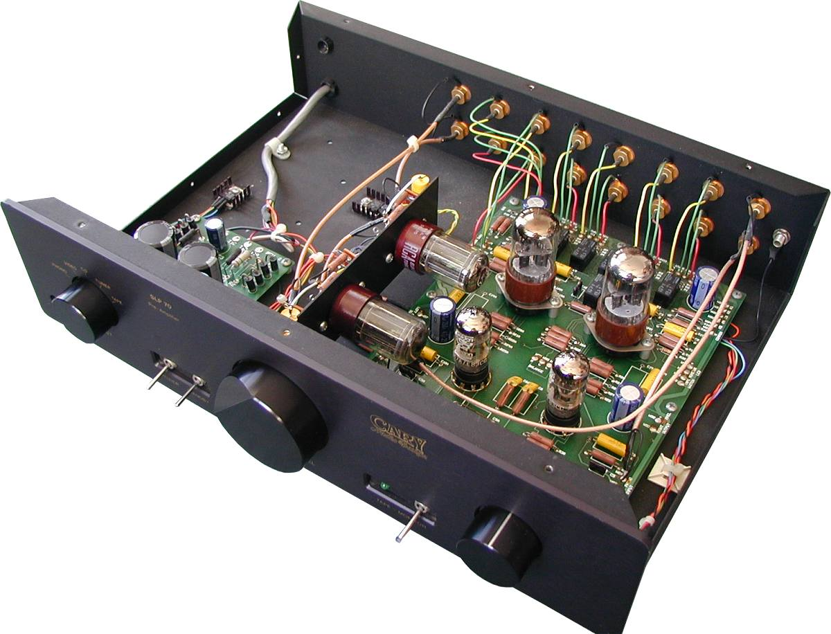 Cary Audio SLP-70 w Phono (see Manual and Modified SLP-70)