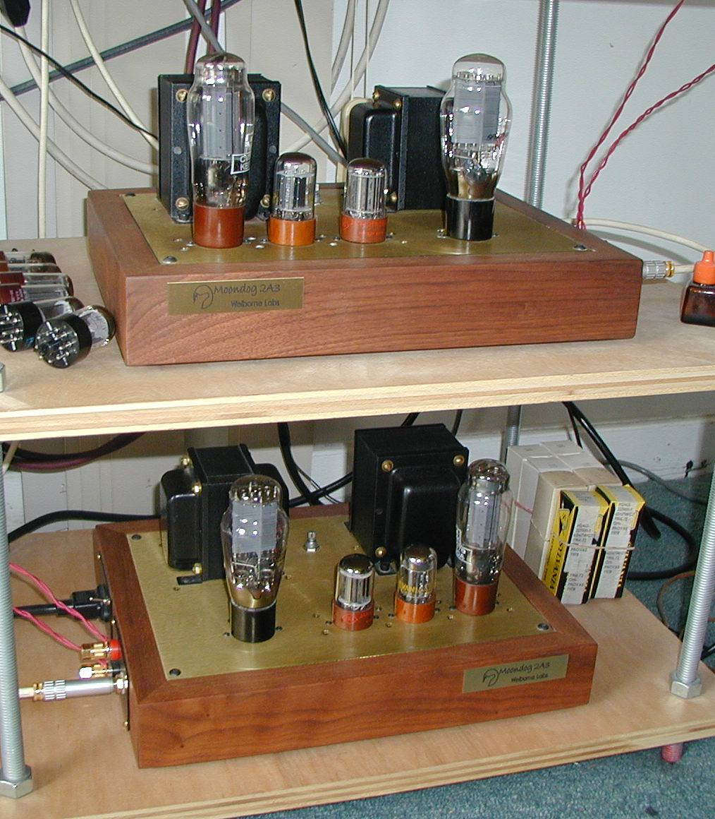 Welborne Labs 2A3 Moondog Monoblocks